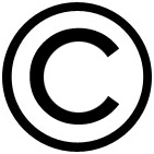 copyright symbol - letter c in a circle