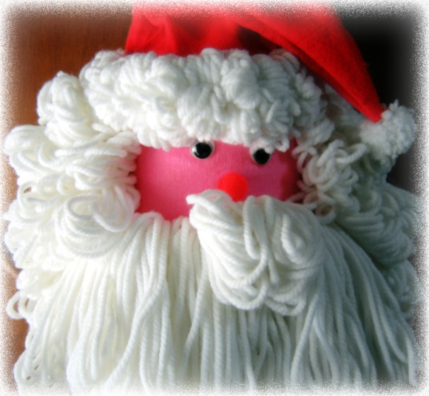 Hand Made Santa Claus Door Hanger