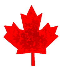 Red Maple Leaf graphic