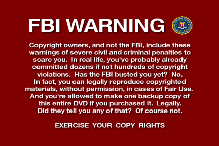 pseudo FBI Warning