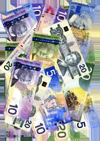 canadian paper money - photo by laurelrusswurm