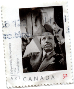 Canada Post canceled Yousuf Karsh stamp