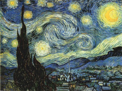 The Starry Night by Vincent Van Gogh