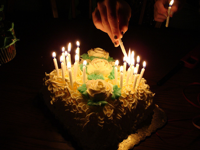 B-day Cake - 21Candles (CC by-nc-nd) by wyldanthem