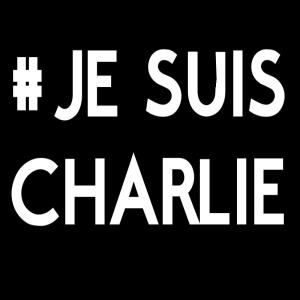hashtag JE SUIS CHARLIE